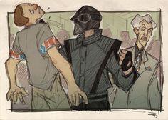 Denis Medry - STAR WARS 80's High School Vader Bully
