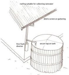 Collecting and using rainwater - Smarter Homes Practical advice on smarter home essentials Water Collection, Rainwater Harvesting, Water Supply, Smart Home, Home Projects, Homesteading, Garden Tools, Household, New Homes