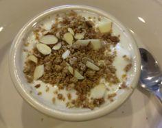 Almond Yogurt Crunch Recipe (Phase 3 hCG diet)