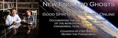 New England Ghosts and the Good Spirits Newsletter: Online Home of CBS Radio's Paul & Ben Eno