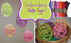 Embroidery Easter Eggs