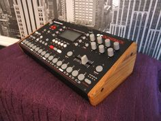 ELEKTRON SOLID OAK END CHEEKS FITS OCTATRACK ANALOG FOUR RYTM in Musical Instruments, Pro Audio Equipment, Synthesisers & Sound Modules | eBay