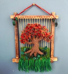 Macrame Owl, Weaving Art, Grapevine Wreath, Grape Vines, Ladder Decor, Flowers, Crafts, Mary, Tapestry Weaving