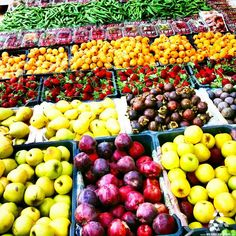 A variety of fresh Lebanese summer fruits, Love the colors <3 By Elie Samarani #Lebanon #WeAreLebanon
