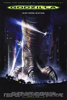 PIPOCA COM BACON - Top 10 – Trilhas Sonoras de Filmes   Poster de Godzilla, de 1998.  #asvantagensdeserinvisível #crazystupidlove #curtindoavidaadoidado #dirtydancing #donniedarko #footloose #godzilla #magnolia #petersfriends #pequenamisssunshine #pipocacombacon