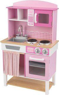 kidkraft vintage kitchen - red | kidkraft vintage kitchen, babies