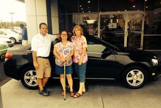 Lisa Sawyer of Theodore, AL New 2014 Chevrolet Cruze Pictured with Mike Collins and her mom, Jeanne Pfunder