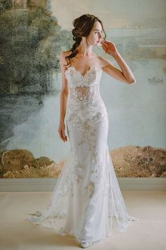 Ensure that your wedding style stand the test of time. Claire Pettibone offers timeless wedding gowns that give a vintage flare to the modern bride. Claire Pettibone, Bridal Collection, Dress Collection, Bridal Gowns, Wedding Gowns, Wedding Dress Backs, Chic Vintage Brides, Bridal Style, Marie
