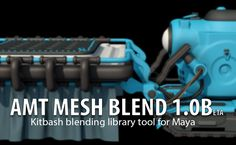 80.lv articles amt-mesh-blend-kitbash-modeling-tool-for-maya