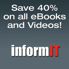 InformIT is home to technology publishers Addison-Wesley Professional, Cisco Press, IBM Press, Pearson Certification, Prentice Hall Professional, QUE & Sams. We publish the top books, eBooks, & video from the creators, innovators & leaders of technology.