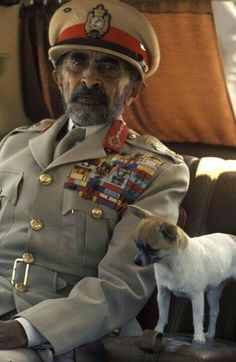 His Imperial Majesty Hailie Selassie