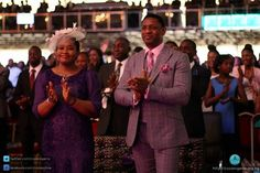 The angels of the house. #PastorBiodun & #PastorModele