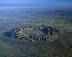 With Asteroid Day falling on June we look at some of the biggest meteor craters on Earth. Meteor Crater, Us Deserts, Darwin, Airplane View, Grand Canyon, Australia, Earth, Big, Places