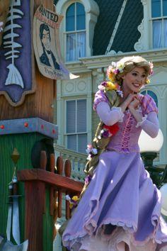 Walt Disney World, Magic Kingdom, Festival of Fantasy Parade, Tangled Float, Rapunzel tami@goseemickey.com