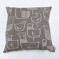 Cushion cover 50x50cm  Eep in cocoa by skinnylaminx on Etsy, $38.00