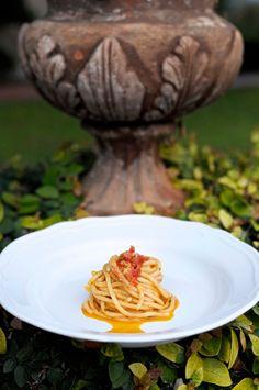 Спагетти с сицилийским песто