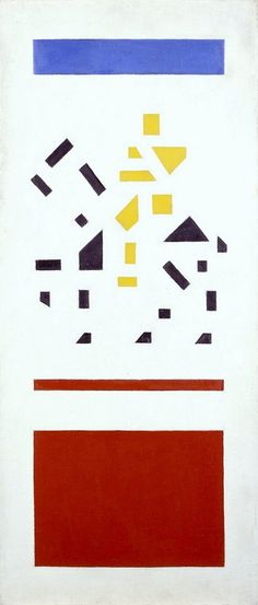 Bart van der Leck Horseman: deconstruct elements
