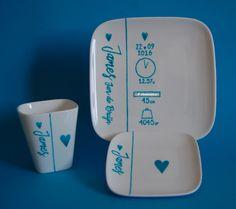 Femkado bewerkt serviesgoed tot een uniek en persoonlijk geschenk voor geboorte en verjaardag. Maar ook voor andere gelegenheden zijn er tal van mogelijkheden. Kijk op Femkado.nl voor meer informatie.