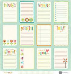 journal cards - Buscar con Google