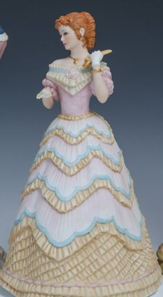 lenox figurines   LENOX LEGENDARY PRINCESS FIGURINES Lot of porcelain figurines by Lenox ...
