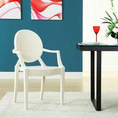 Sweet William Chair in Sheet White - Dot & Bo