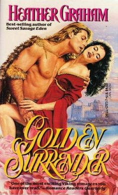 Golden Surrender by Heather Graham.  Published by Dell in 1989.