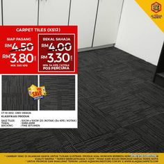 Other for sale, in Klang, Selangor, Malaysia. Carpet Tiles - Stylish Decor Option For Home & Office Make your whole room look more interesting b