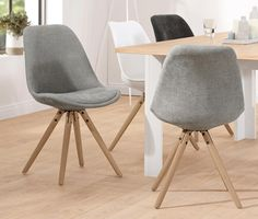 Krzesło, jasnoszare 332780 w Tchibo