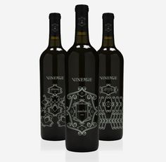 Vineage: Art Nouvea inspired brand and packaging
