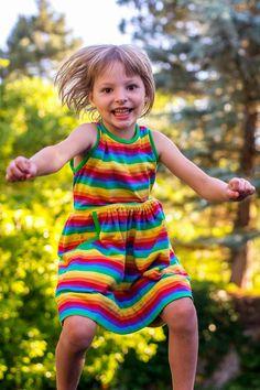 Sewing: Rainbow SOLEIL Dress (KCW Summer)