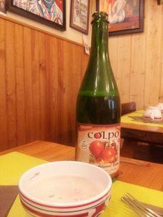 """crêperie gourmande"" qui sert du cidre artisanal de Colpo"