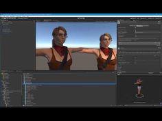 Detailed Tutorial - Mesh Blend Shapes on Skinned Mesh Merging In Unity - YouTube