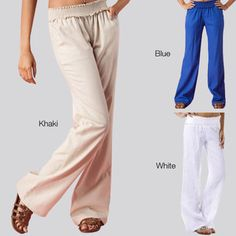 @Overstock.com - For the best in comfortable and stylish lounge-wear you need to look no further than these lightweight womens linen pants. Ideal for any casual setting, these pants boast a smocked elastic waist and come in tones of blue, khaki and white.http://www.overstock.com/Clothing-Shoes/Tabeez-Womens-Smocked-Waist-Linen-Pant/6793808/product.html?CID=214117 CAD              38.63