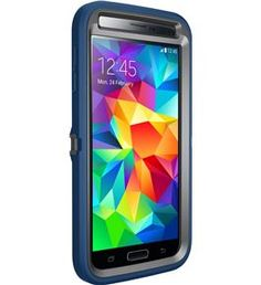 Otterbox [Defender Series] Samsung Galaxy S5 Case Protective Case for Galaxy S5 - Blueprint (Slate Grey/Deep Water)