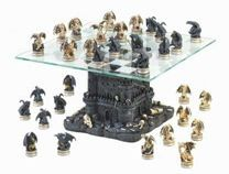 $199.95 Black Tower Dragon Chess Set