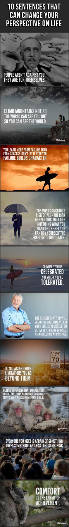 10 sentences that can change your life!