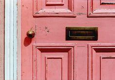 the pink door.