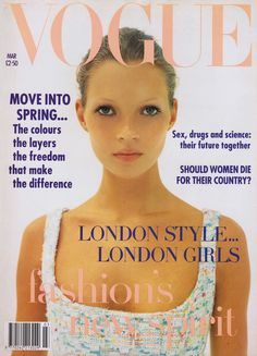 Kate Moss by Corinne Day Vogue UK March 1993