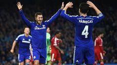 Eden Hazard & Cesc Fàbregas