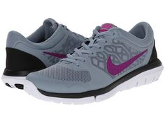 Nike Flex 2015 RUN Dove Grey/Black/Classic Charcoal/Fuchsia Flash - Zappos.com Free Shipping BOTH Ways