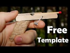How to make a Pocket Pistol using Popsicle Sticks - YouTube