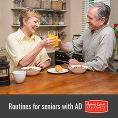 How Seniors with Alzheimer's Benefit from Routines