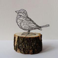 wire art | Wire Sculpture Bird B18_left | Flickr - Photo Sharing!