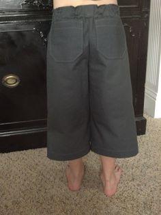 Boys 3/4 Grey Pants by RememberWhenCC on Etsy, $37.00