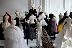 Dior miniature couture collections