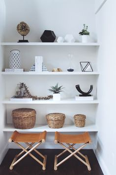 In My Home: Styled Shelves