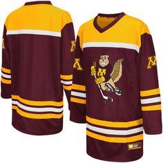 Minnesota Golden Gophers Colosseum Youth Hockey Jersey - Maroon - $49.99