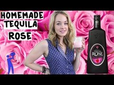 How to make Homemade Tequila Rose Liqueur - Tipsy Bartender - YouTube
