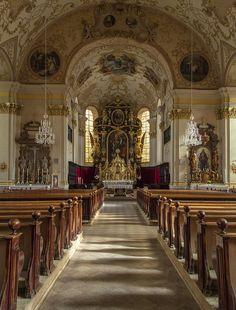 Eine Barockkirche aus dem Innviertel