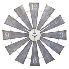 Oversized Wall Clocks on Hayneedle - Decorative Large Wall Clocks                                                                                                                                                                                 More